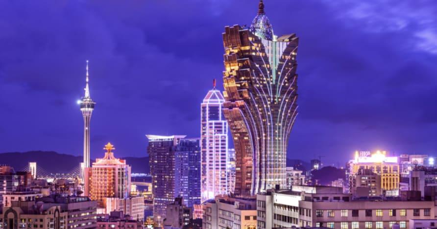 Machen Sie eine Reise in den Osten mit Mr. Macau . von Betsoft