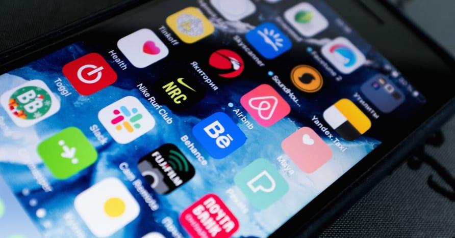 Auswahl einer mobilen Glücksspiel-App